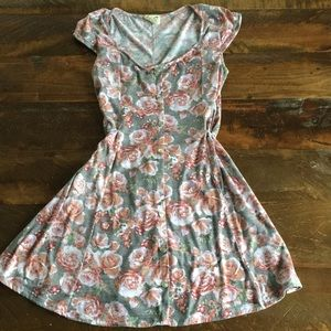 La Hearts Floral dress Medium